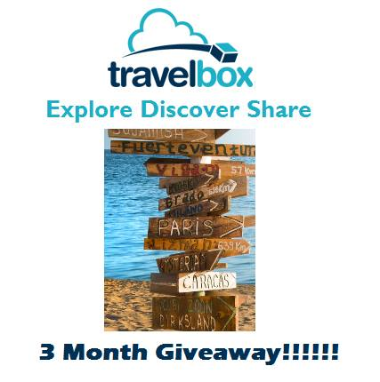 Travelbox 3 Month Giveaway
