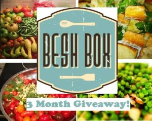 Besh Box 3 Month Giveaway