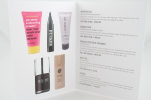 Glossybox Information Card
