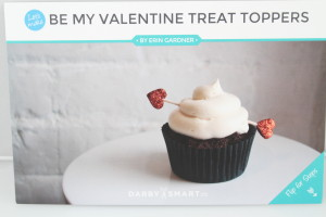 Be My Valentine Treat Toppers