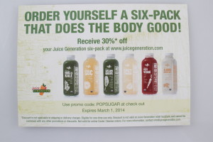 Juice Generation 6 Pack Coupon