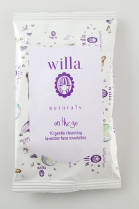 willa® on the go face towelettes $4.50