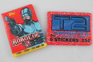 Robocop 2 and Terminator 2 Judgement Day Trading Cards