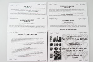 Information Cards