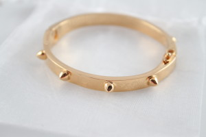 CC Skye Mini Spike Gold Bracelet