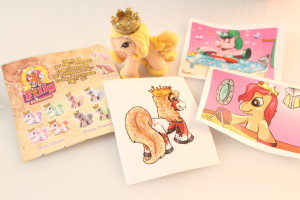 Pony, Stickers, and Tatoo
