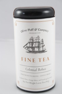 COLONIAL TEA - BOHEA TEA TIN 3 OZ