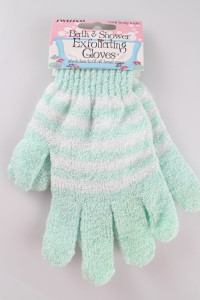 Swissco Bath & Shower Exfoliating Gloves