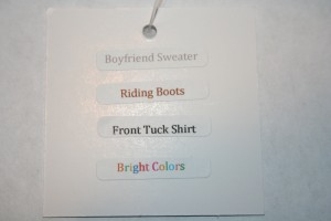 Leggings Style Instructions