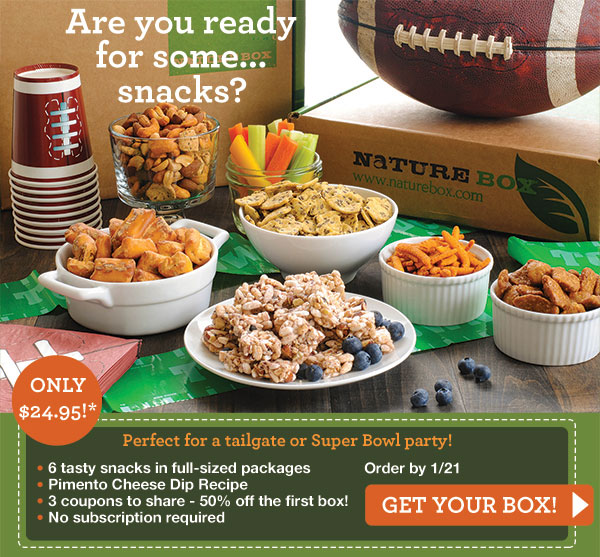 Naturebox Super Bowl Deal