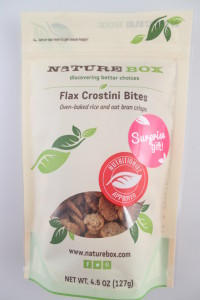 Flax Crestini Bites