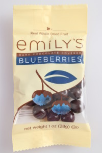 Emily's Dark Chocolate Covered Blueberries