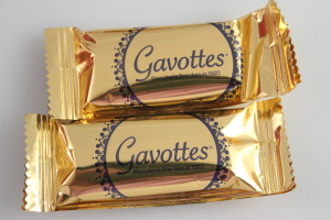 Gavottes Dark Chocolate Crepe Dentelle