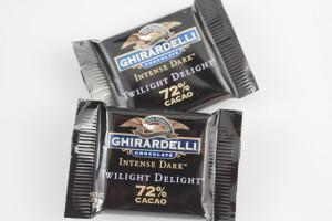 Ghiradelli Intense Dark 72% Cacao Twilight Delight Squares