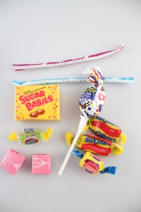 Wrapped Candy from Bag