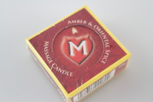 Amber & Oriental Spice Massage Candle