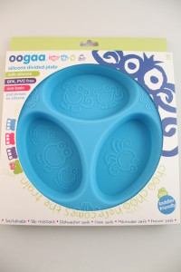 Oogaa Silicone Divided Plate