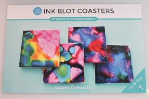 Ink Blot Coasters