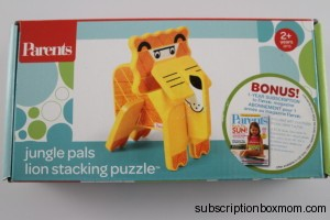 Jungle Pals Lion Stacking Puzzle