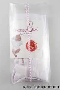Assessables Umbilical Bodysuit for Newborns (Ivory)
