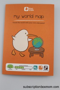My World Map Instructions