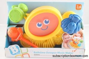 B Kids Bathtime Octopus Music Maker