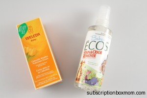 Weleda Candula Weather Protection Cream & Baby Ecos Stain and Odor Remover