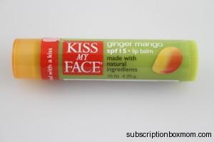 Kiss My Face Lipbalm