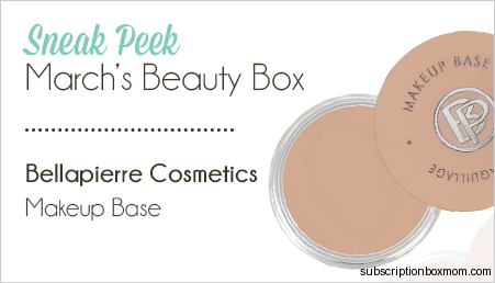 Bellapierre Cosmetics Makeup Base