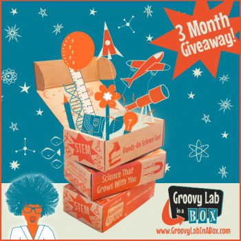 Groovy Lab in a Box Review and 3 Month Giveaway