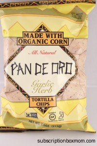 Pan De Oro Organic Tortilla Chips