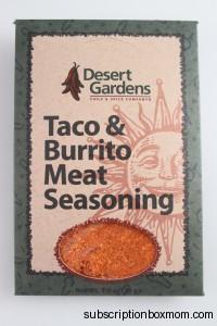 Desert Gardens Taco & Burrito Meat Seasoning