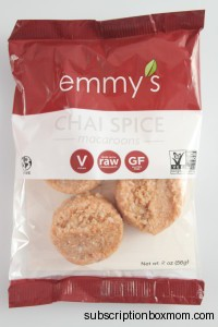 Emmy's Chai Spice Macaroons