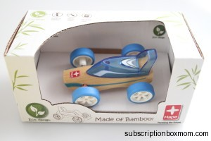 Hape Bamboo Car