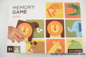 Petit Collage Memory Game