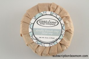 Clean Line Soap Company Double French Clay Fatial Soap