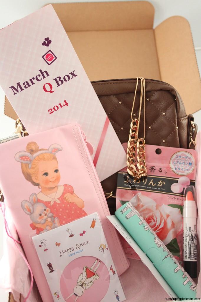 Q Box March 2014 Discount Japanese Korean