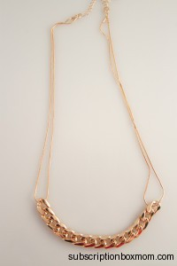 Gold Chain Link Necklace - Japan