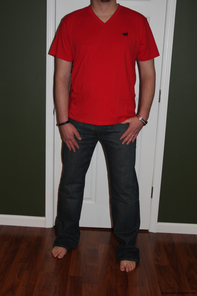 Red Shirt and Jeans