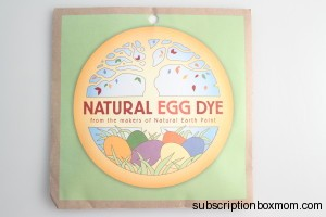 Natural Egg Dye by Natural Earth Paint