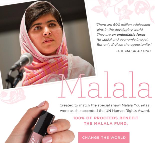 Julep Maven Malala Special Edition Color
