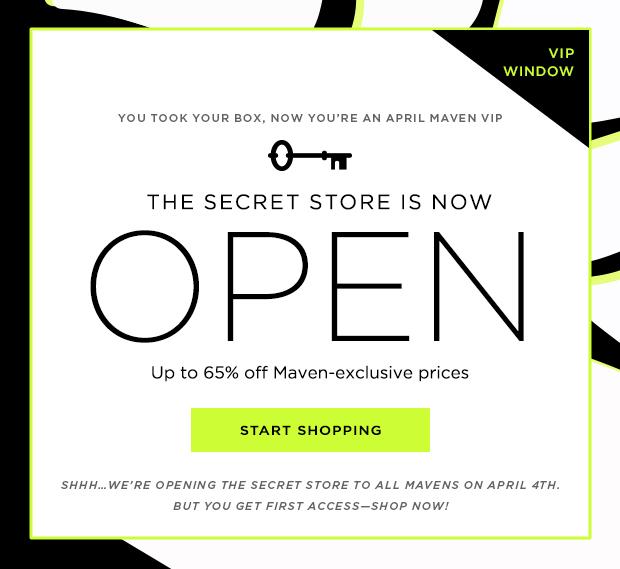 Julep Secret Store April 2014