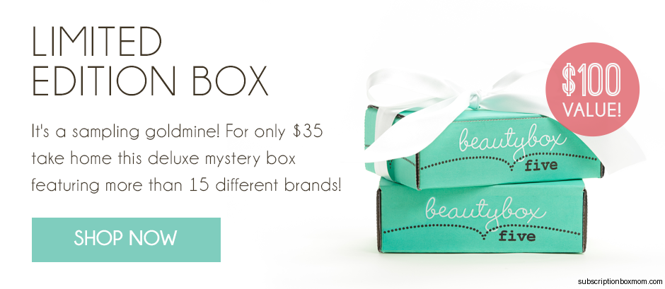 Beauty Box 5 Limited Edition Box