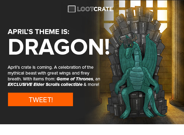 Loot Crate April 2014 Spoiler