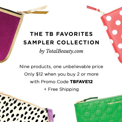 Total Beauty Favorites Sample Collection