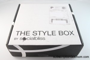 April 2014 Socialbliss Style Box Review