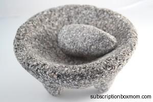 Authentic Lava Rock Molcajete