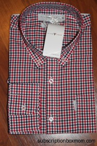 Weston Red Button Down Long Sleeve