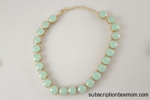 Urban Gem Ella Necklace in Mint