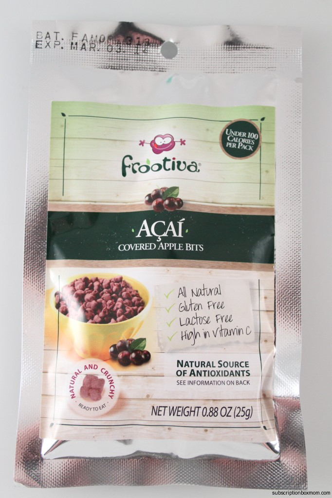 Frootiva Acai Covered Apple Bits
